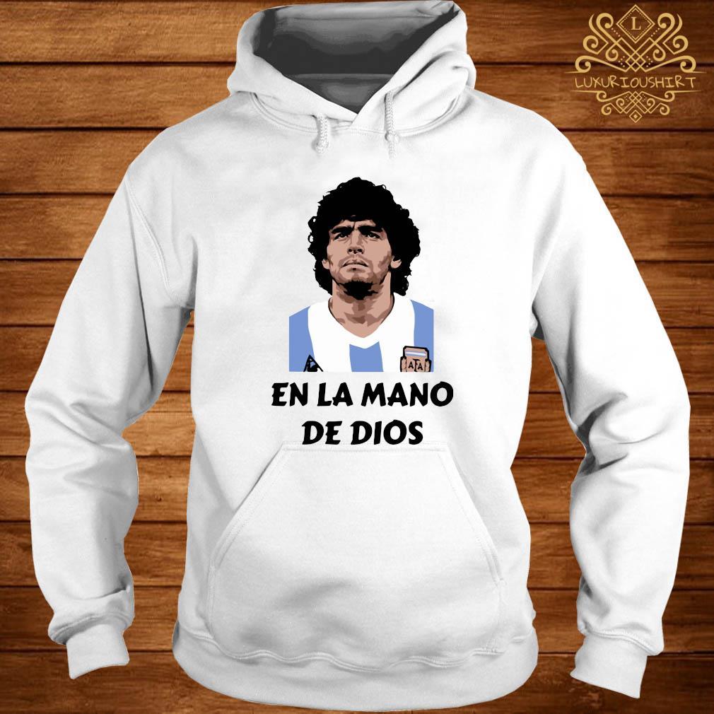 RIP Diego Maradona En La Mano De Dios Shirt hoodie