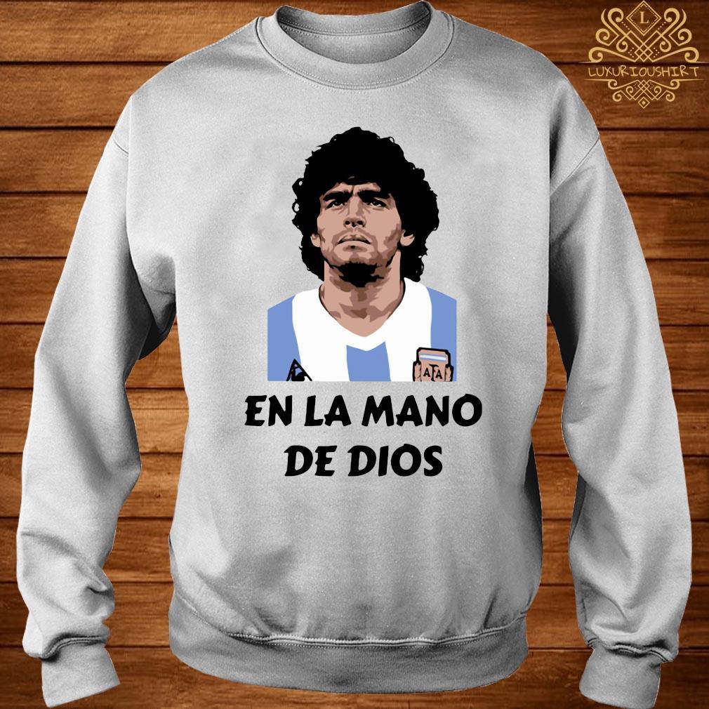 RIP Diego Maradona En La Mano De Dios Shirt sweater