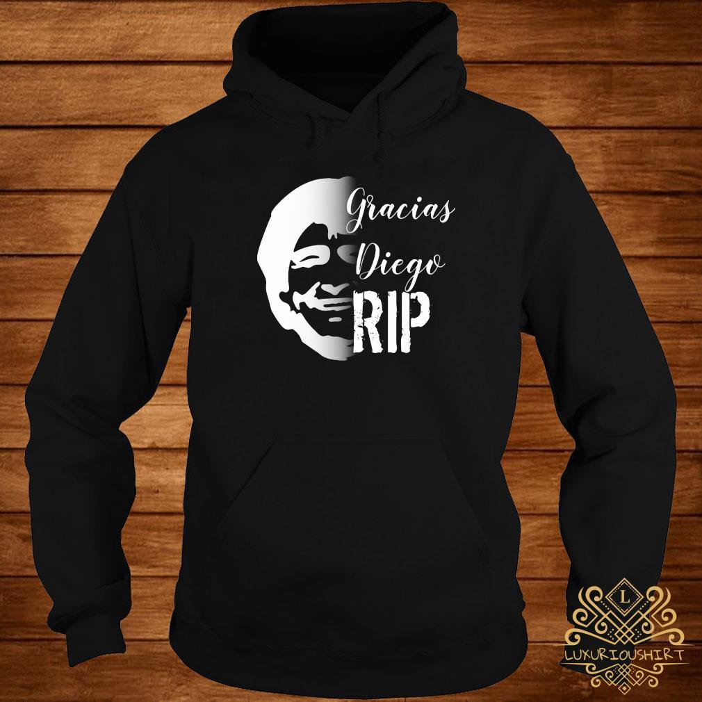 RIP Diego Maradona Gracias Diego Shirt hoodie