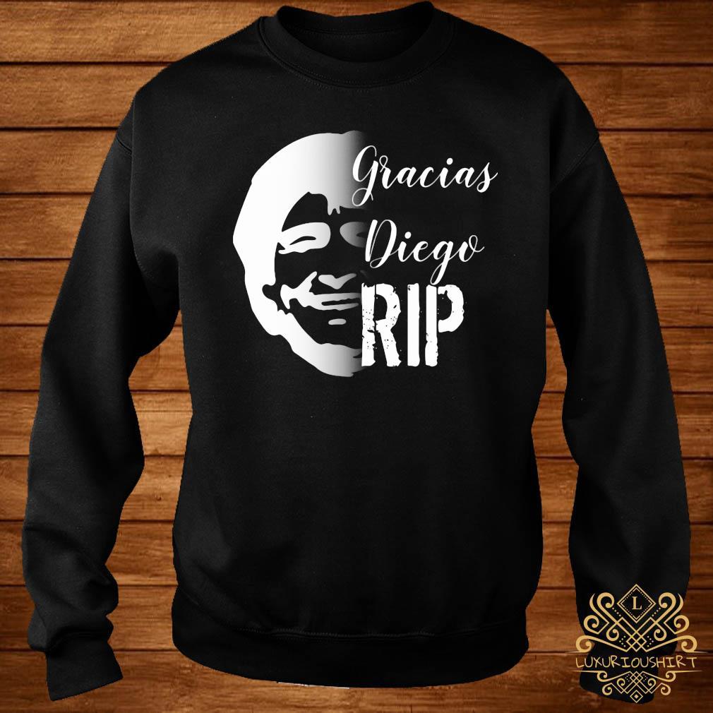 RIP Diego Maradona Gracias Diego Shirt sweater