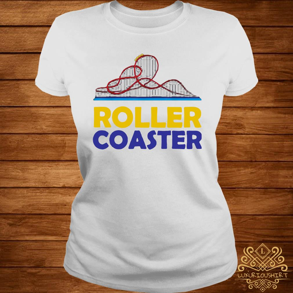 Rollercoaster Love Shirt ladies-tee