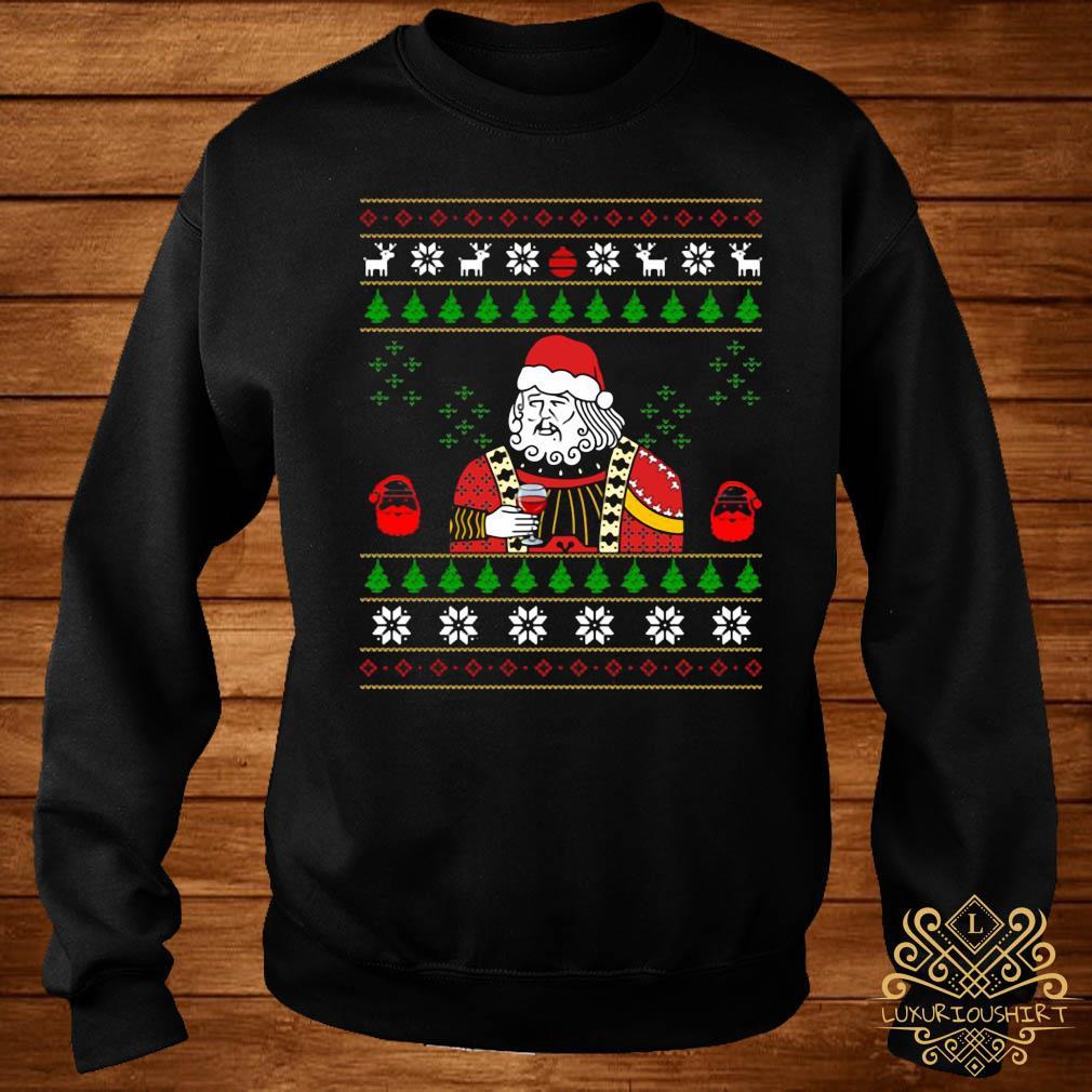 Santa Leonardo Big Fat Jumper Christmas Shirt sweater
