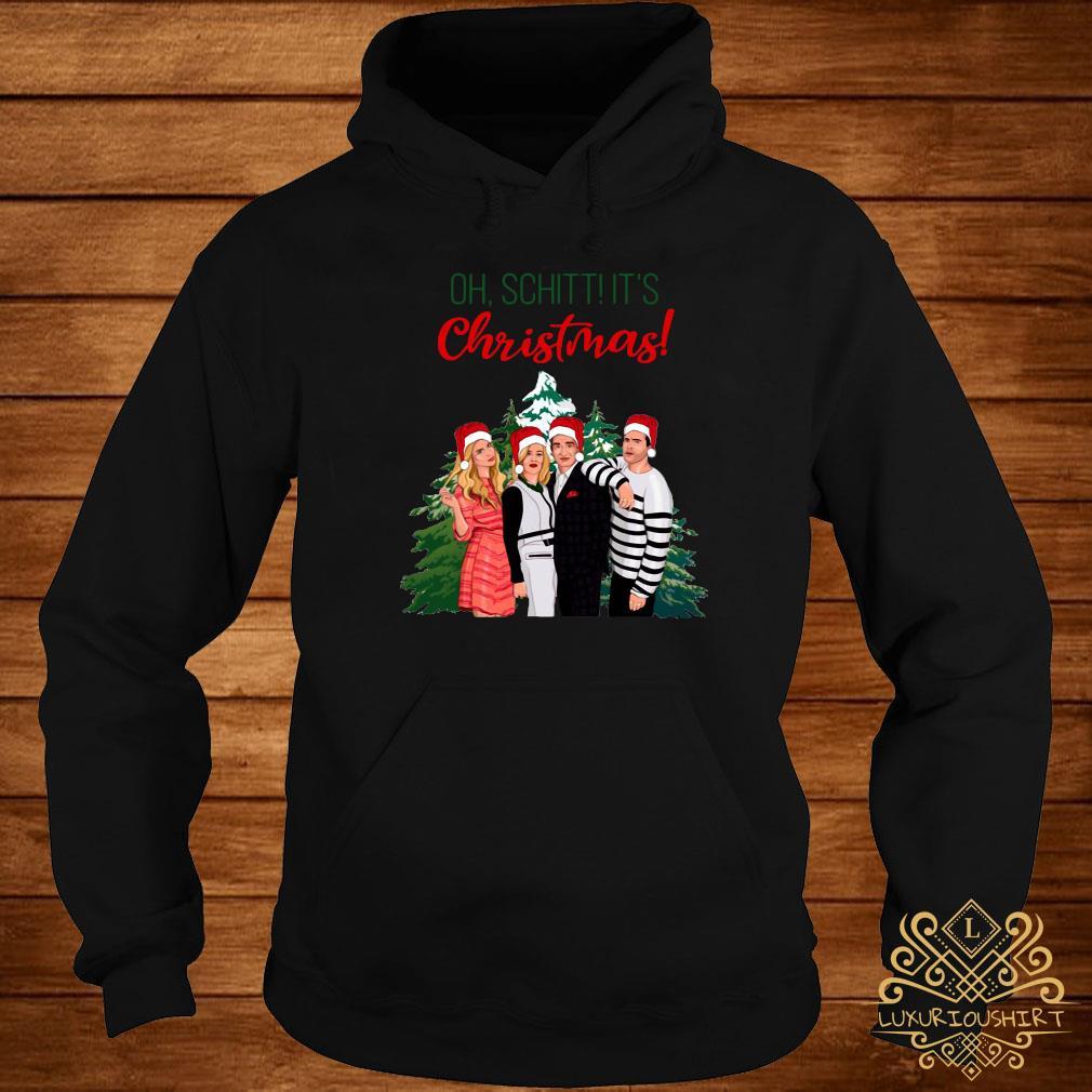 Schitt's Creek Characters Oh Schitt It's Christmas Sweats hoodie