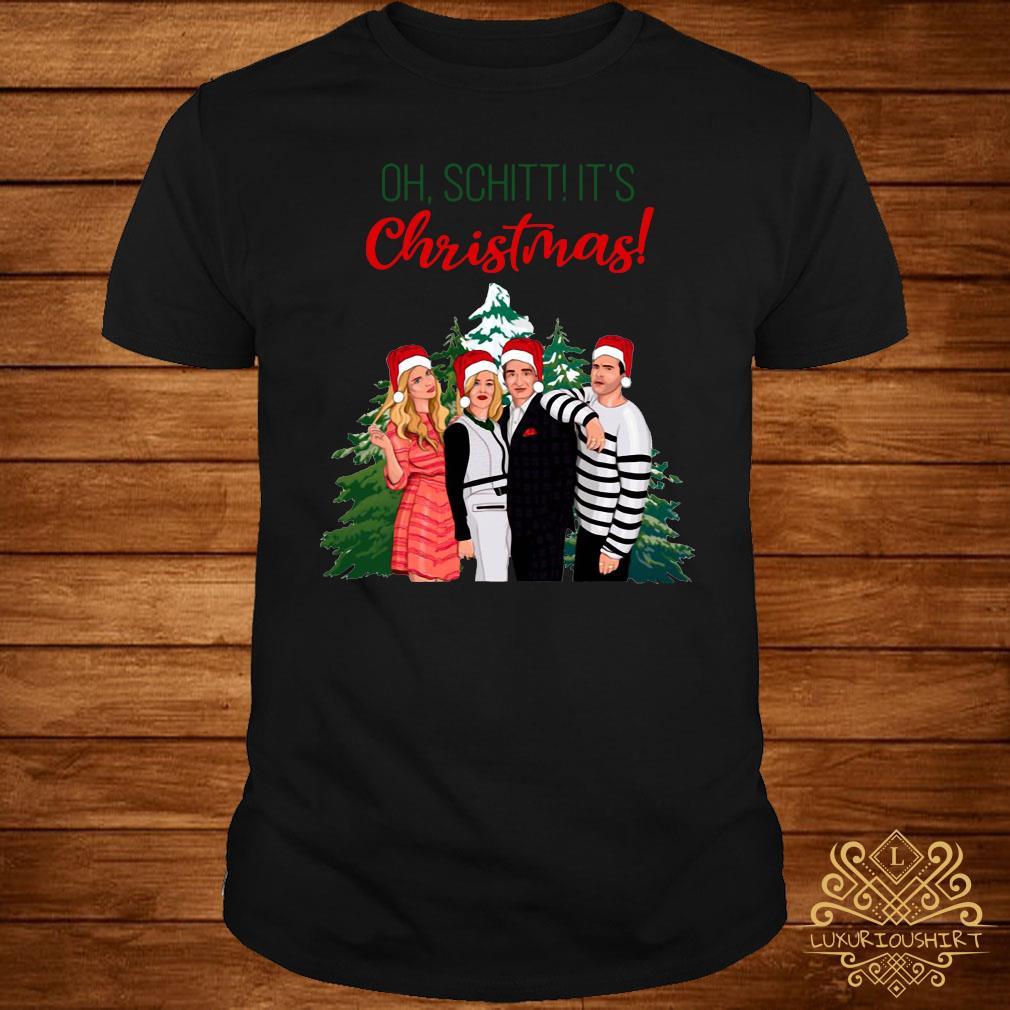 Schitt's Creek Characters Oh Schitt It's Christmas Sweatshirt