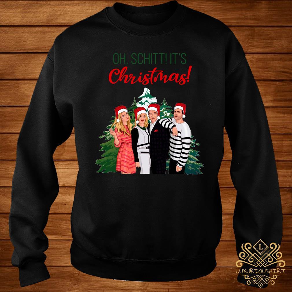 Schitt's Creek Characters Oh Schitt It's Christmas Sweats sweater