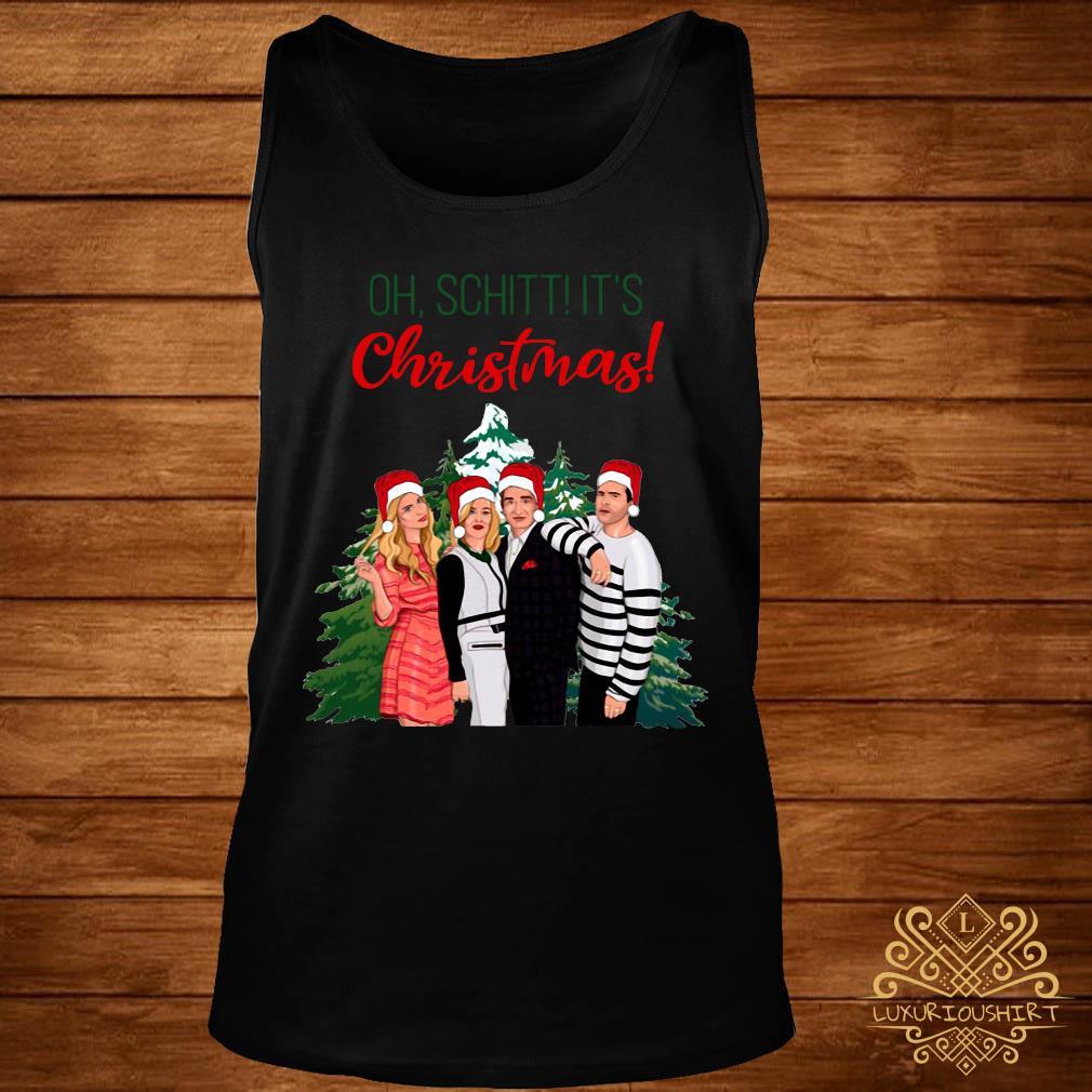 Schitt's Creek Characters Oh Schitt It's Christmas Sweats tank-top