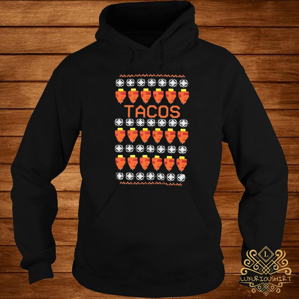 Tacos Ugly Christmas Sweater hoodie