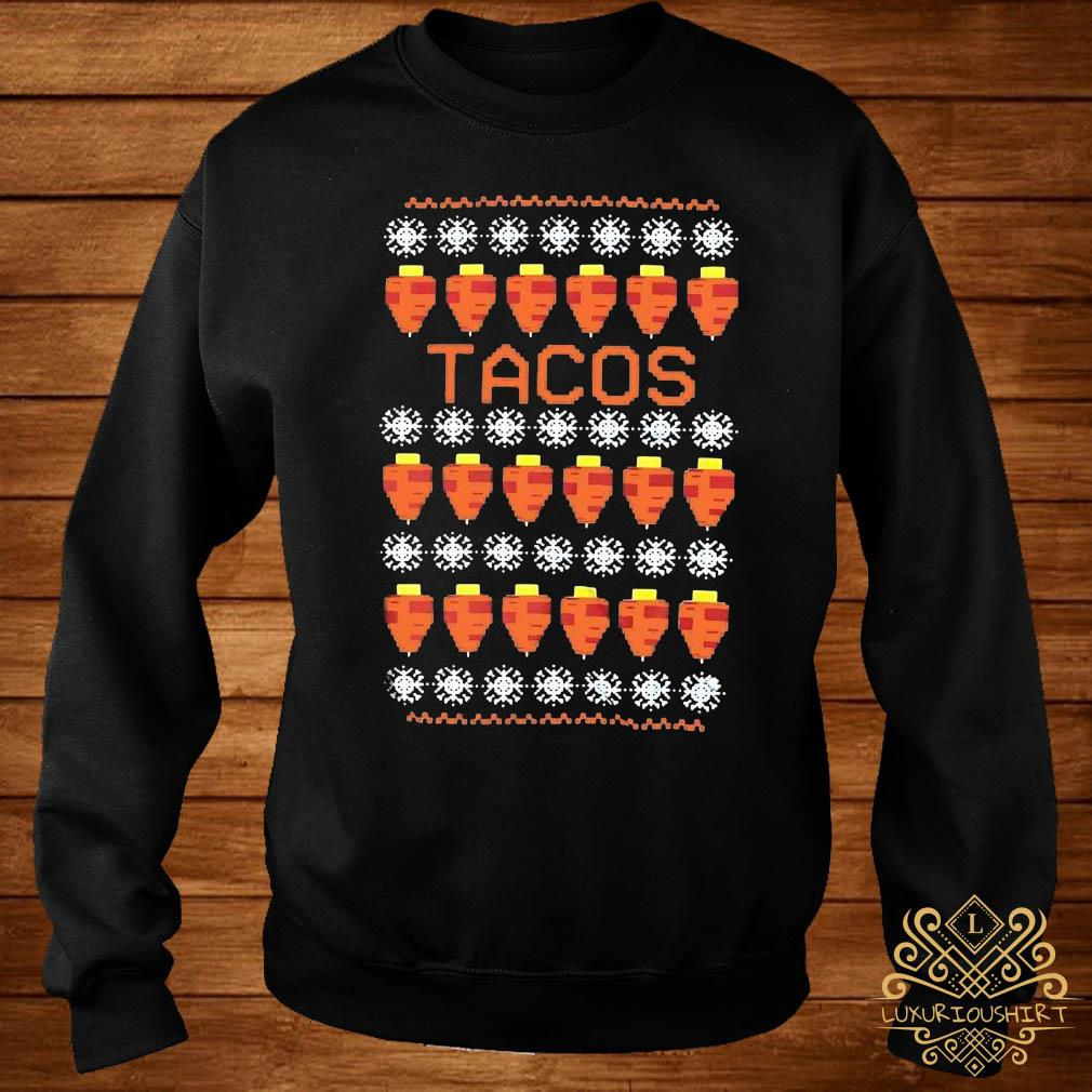 Tacos Ugly Christmas Sweater sweater
