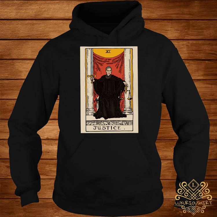 Ruth Bader Ginsburg Justice XI Shirt hoodie