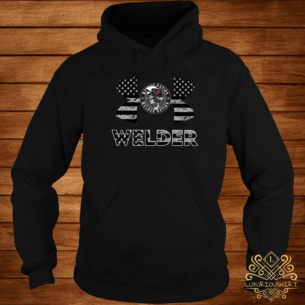 Under Armour Welder American Flag Shirt hoodie