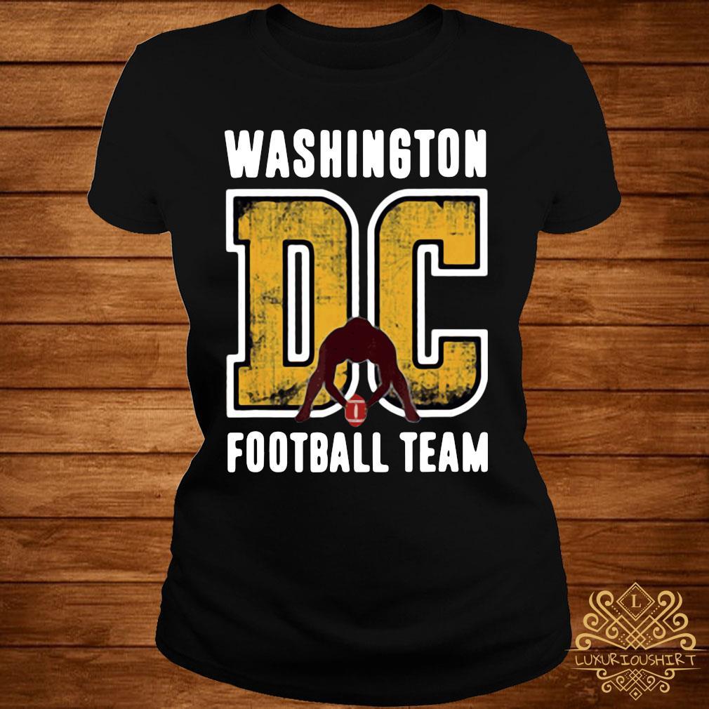 Washington Dc Football Team Shirt ladies-tee